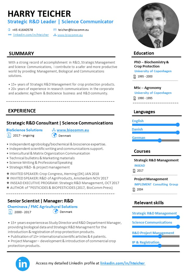 HBT resume generic